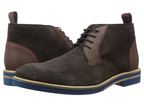 Ted Baker - Challen (Brown Suede) Men's Lace up casual Shoes