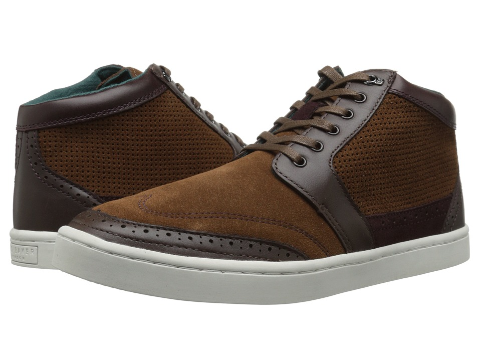 Ted Baker - Maicinon (Dark Brown Multi) Men's Lace up casual Shoes