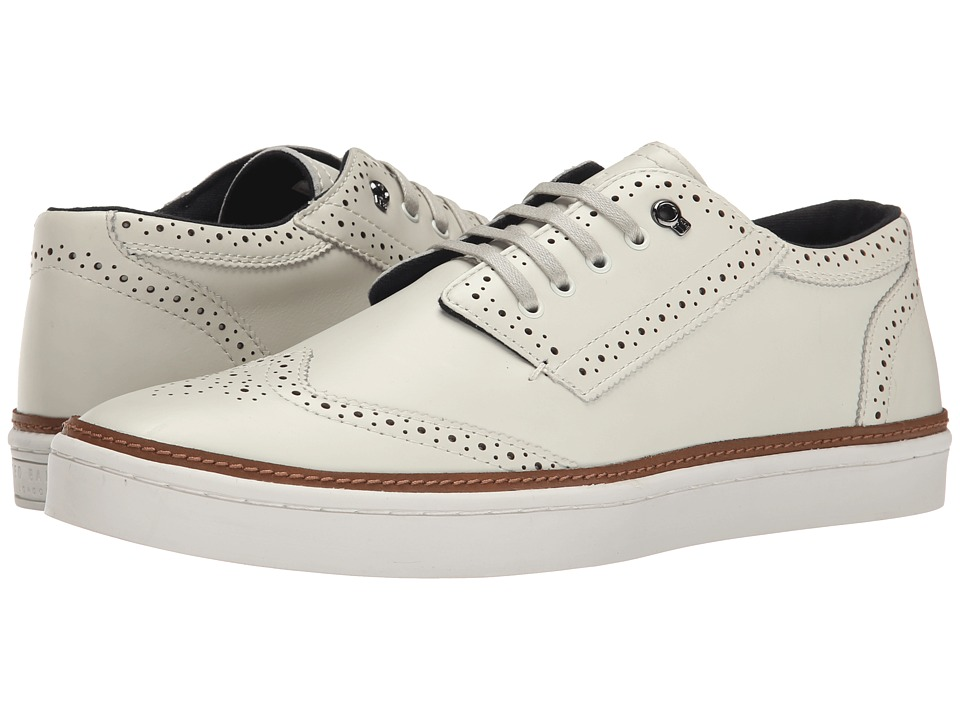 Ted Baker - Iivor (White Leather) Men's Shoes