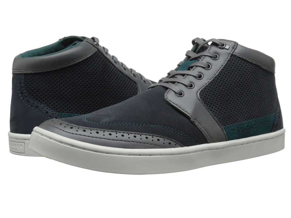 Ted Baker - Maicinon (Dark Grey Multi) Men's Lace up casual Shoes