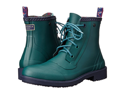 Ted Baker - Epsalo (Dark Green Rubber) Men's Lace-up Boots