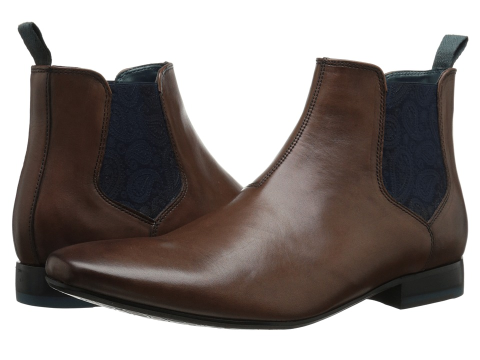 Ted Baker - Hourb (Brown Leather) Men's Dress Pull-on Boots