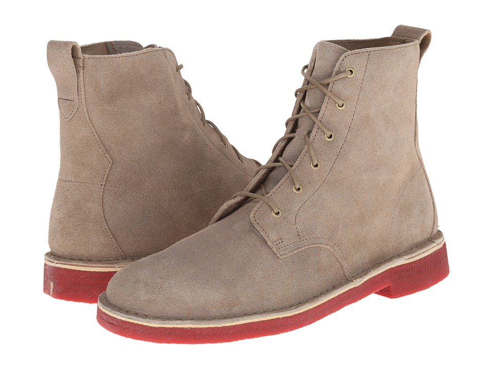 Clarks - Desert Mali Boot (Taupe Distressed 1) Men's Lace-up Boots
