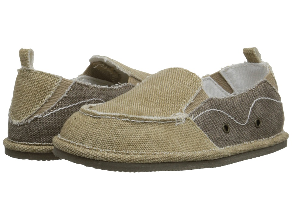 Baby Deer - Slip-On with Gore (Infant/Toddler) (Tan/Brown) Boys Shoes