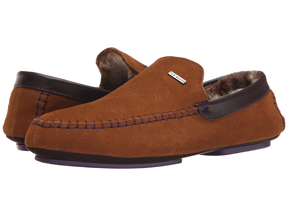 Ted Baker - Maddoxx (Tan Suede) Men's Slip on Shoes