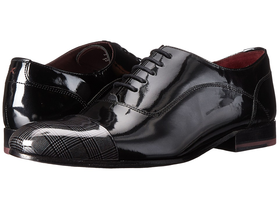 Ted Baker - Archeey 2 (Dark Grey Shine) Men's Shoes