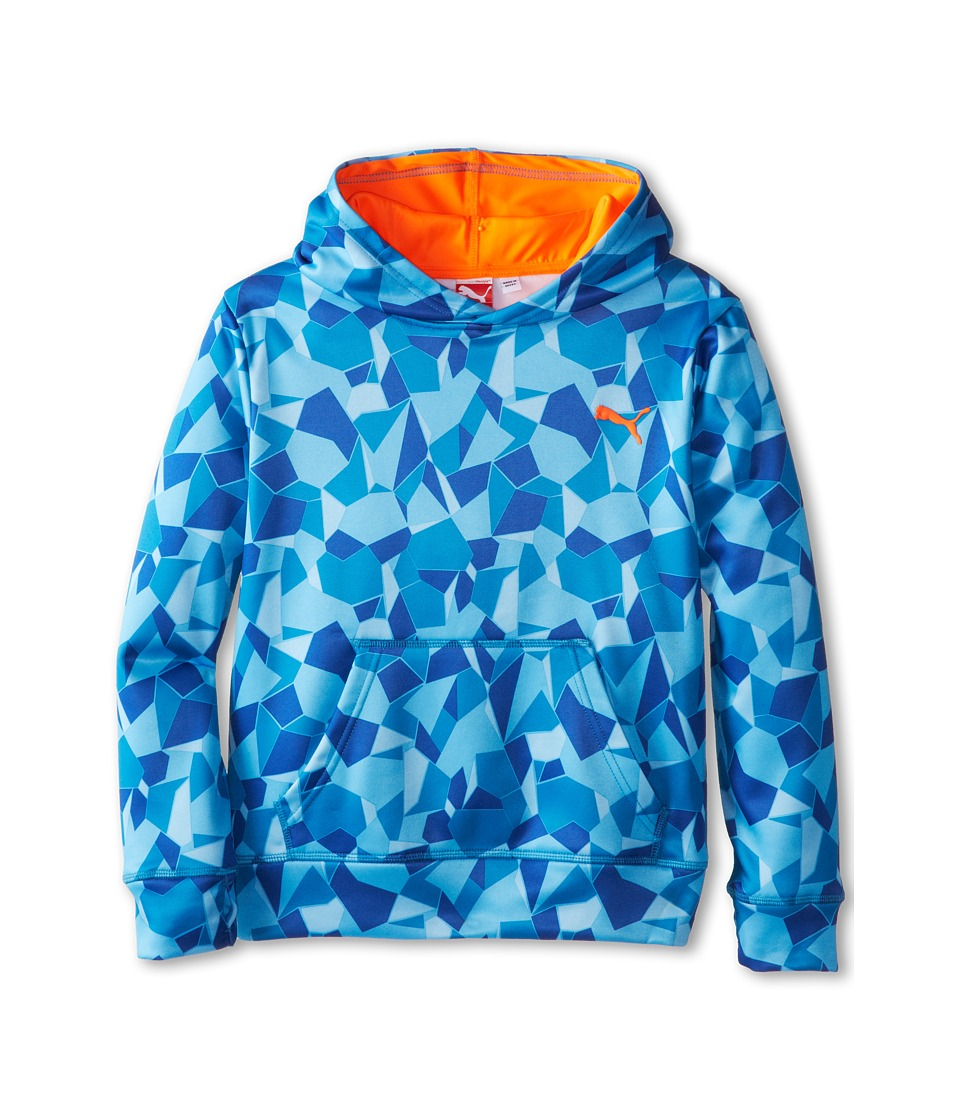 Puma Kids - Brokern Glass Hoodie (Big Kids) (Royal Blue) Boy's Sweatshirt