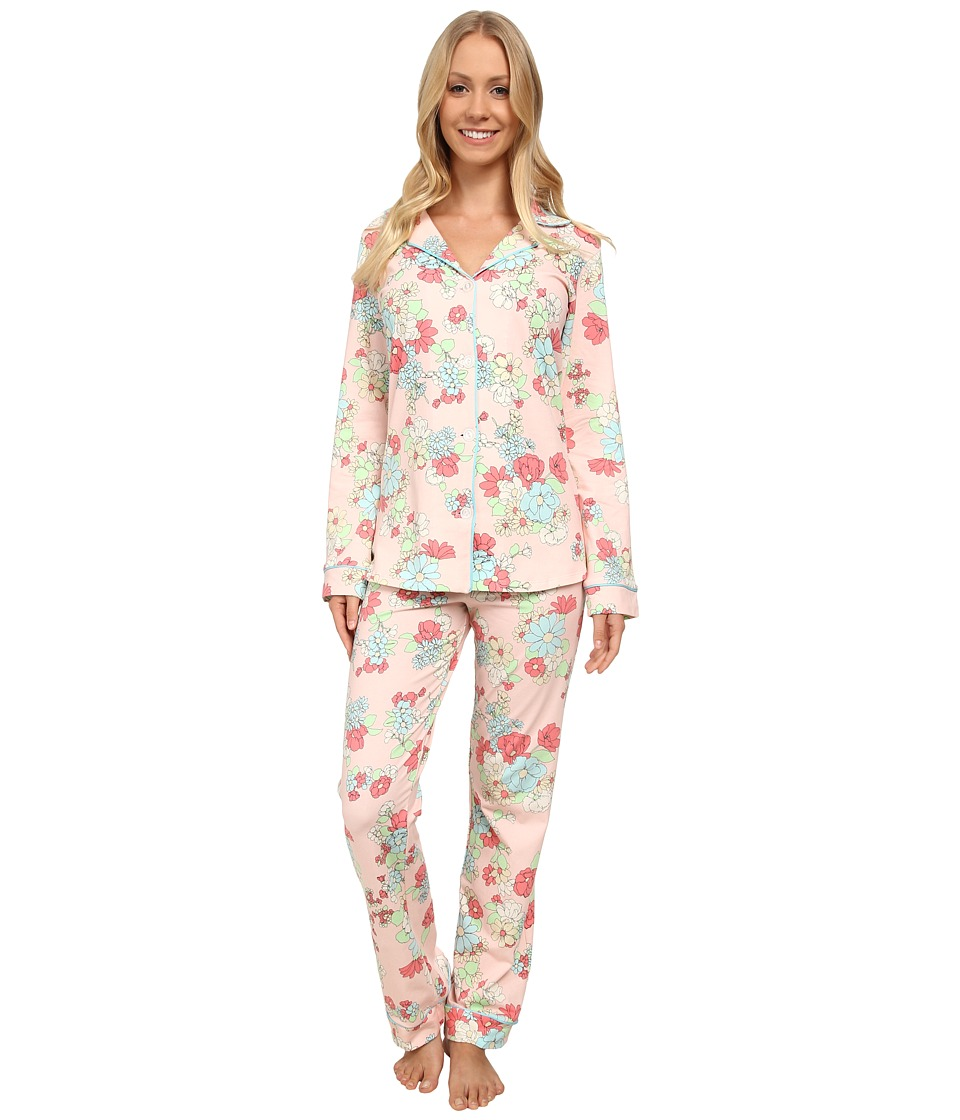BedHead - Long Sleeve Classic PJ Set (Le Jardin) Women's Pajama Sets