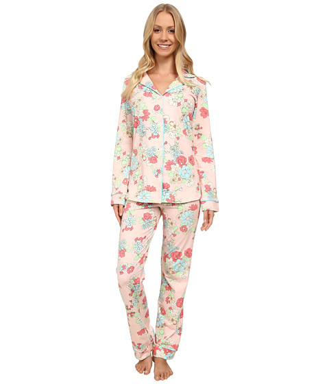 BedHead - Long Sleeve Classic PJ Set (Le Jardin) Women