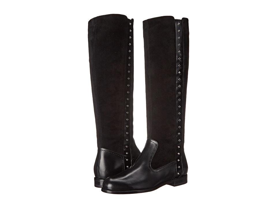 Alexander McQueen - Stivale Pelle S. Cuoi (Black/Black) Women's Boots