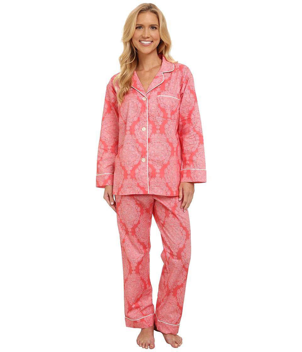 BedHead - Long Sleeve Classic PJ Set (Azalea Mandala) Women's Pajama Sets