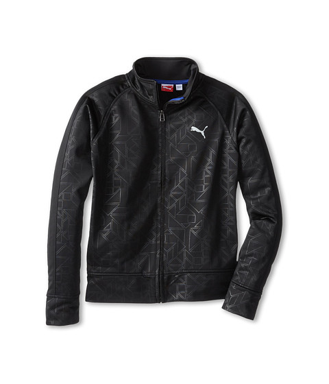 Puma Kids - Extreme Prism Track Jacket (Big Kids) (PUMA Black) Boy