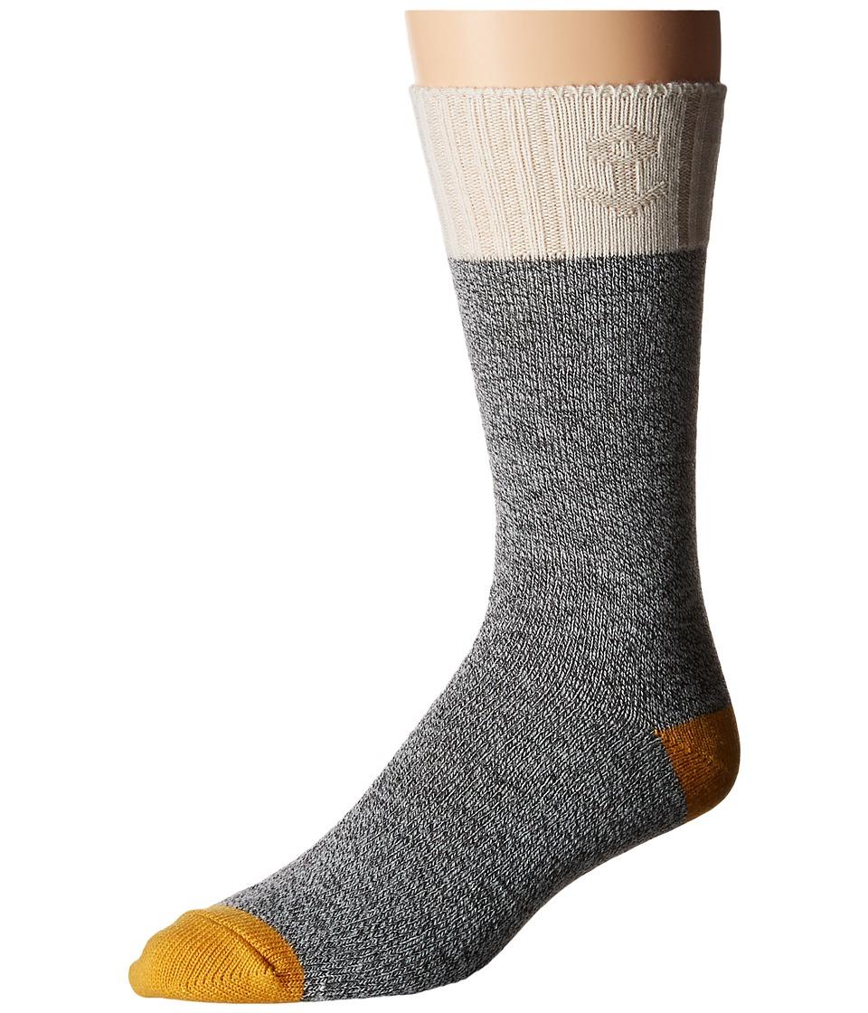 Sperry Top-Sider - Textured Marl Boot (Golden Glow) Men's Crew Cut Socks Shoes