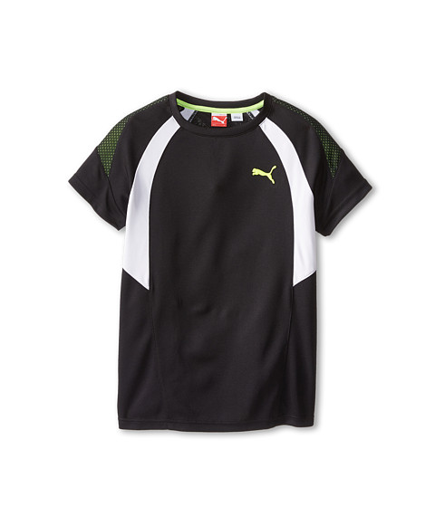Puma Kids - Prism Cutout Perfromance Tee (Big Kids) (PUMA Black) Boy's T Shirt