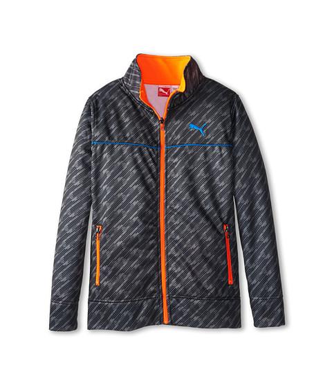 Puma Kids - Zip Track Jacket (Big Kids) (PUMA Black) Boy's Coat