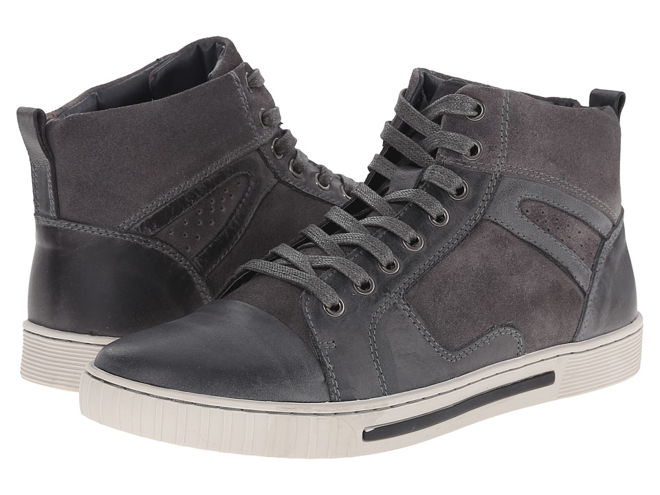 Steve Madden - Peerow (Grey) Men's Lace-up Boots