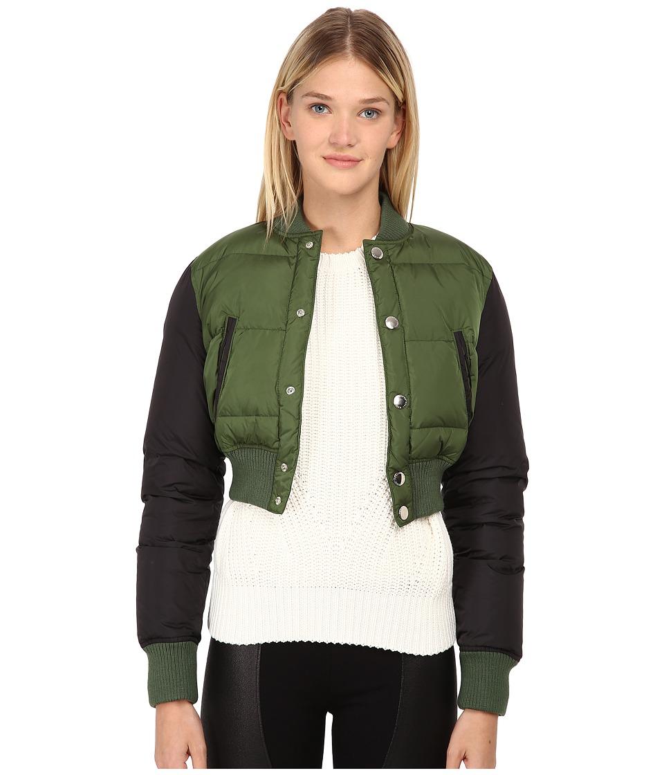 DSQUARED2 - Bomber Girl (Green/Black) Women's Coat