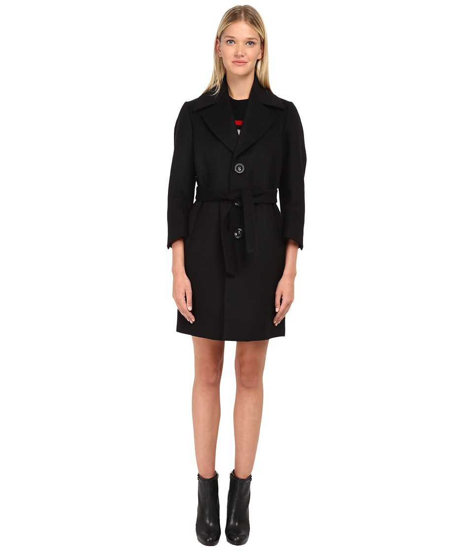 DSQUARED2 - Tula Coat (Black) Women's Coat
