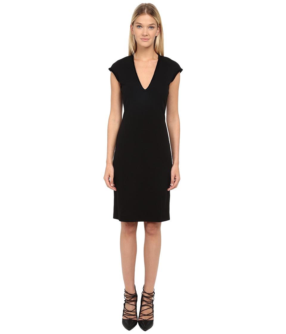 DSQUARED2 - Wool Jersey (Black) Women's Dress