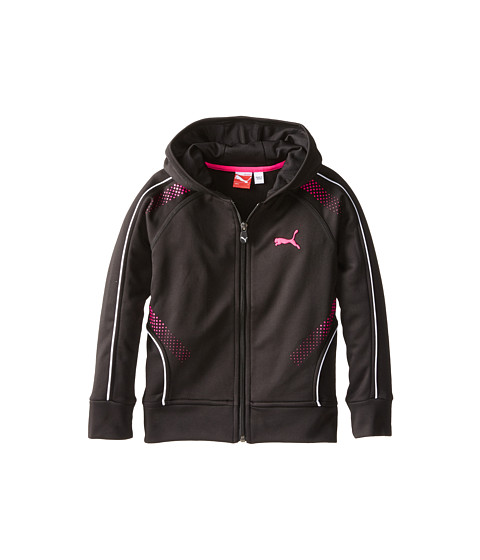 Puma Kids - Hero Zip Hoodie (Little Kids) (PUMA Black) Girl