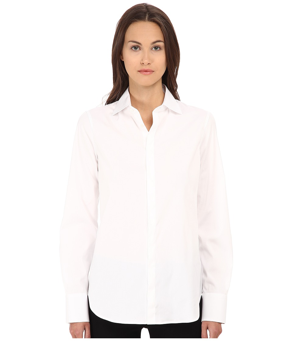 DSQUARED2 - Dean Shirt (White) Women's Long Sleeve Button Up