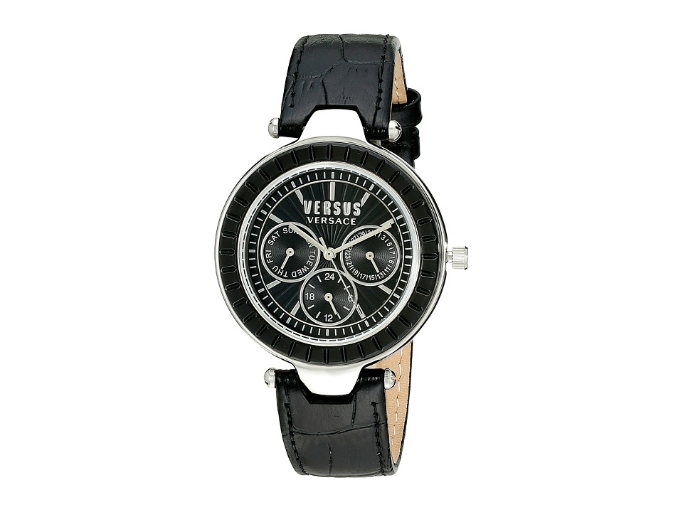 Versus Versace - Sertie Multifunction - SOS02 0015 (Stainless Steel/Black) Watches