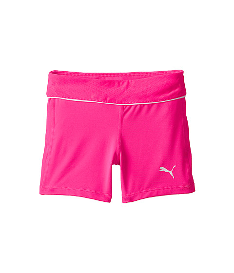 Puma Kids - Hot Shorts Mesh Pointelle (Little Kids) (Pink Glo) Girl