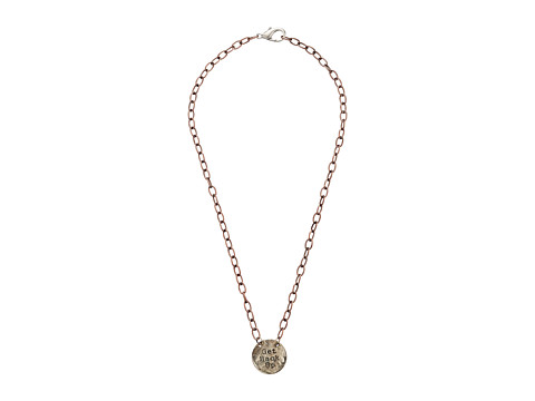 Gypsy SOULE - Get Back Up Pendant Chain Necklace (Bronze/Silver) Necklace