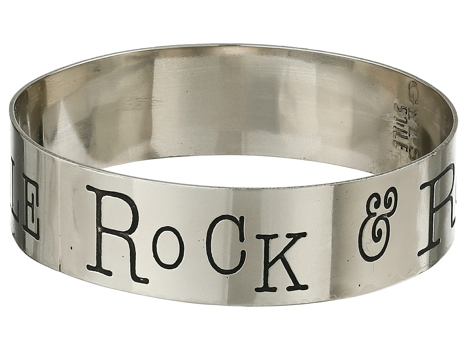 Gypsy SOULE - Rock Roll Stole My Rebel Soule Bangle (Silver) Bracelet