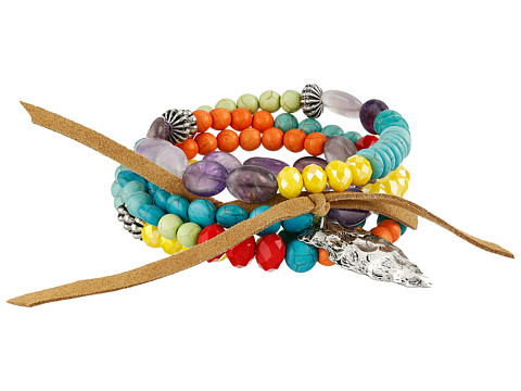 Gypsy SOULE - Arrowhead Beaded Bracelet (Multi Color) Bracelet