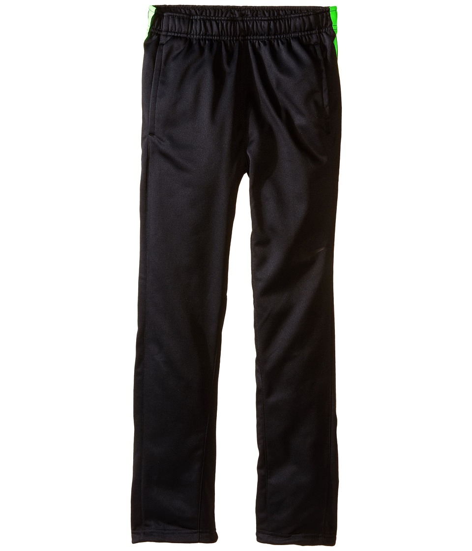Nike Kids - Elite Stripe Pants (Little Kids/Big Kids) (Black/Black/Volt/Volt) Boy's Casual Pants
