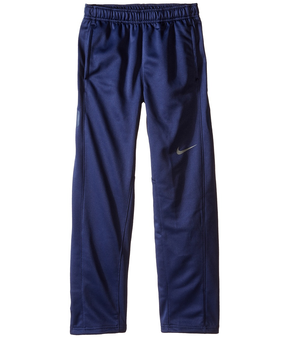 Nike Kids - Elite Stripe Pants (Little Kids/Big Kids) (Midnight Navy/Midnight Navy/Tumbled Grey) Boy's Casual Pants