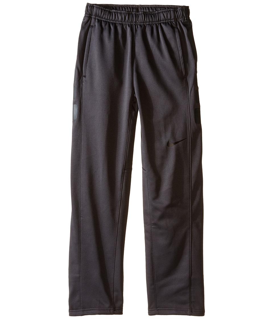 Nike Kids - Elite Stripe Pants (Little Kids/Big Kids) (Anthracite/Anthracite/Black/Black) Boy's Casual Pants