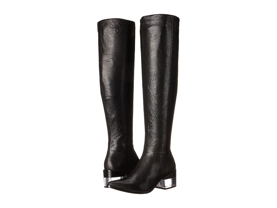 Rachel Zoe Paulina (Black Tumbled Calf) Women