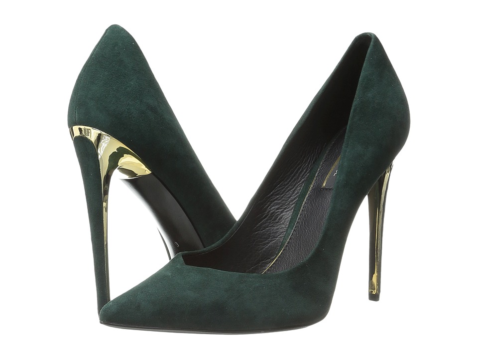 Rachel Zoe - Via (Green Kid Suede) High Heels