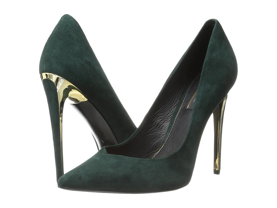 Rachel Zoe - Via (Green Kid Suede) High Heels