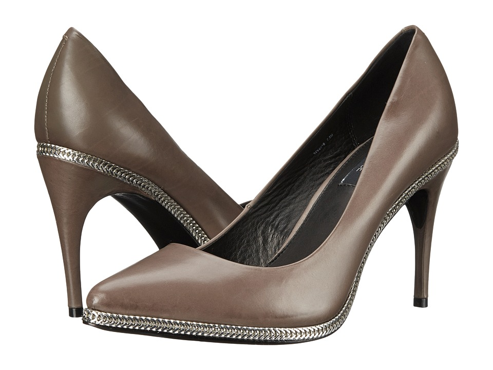 Rachel Zoe Alice (Warm Grey Baby Calf) High Heels