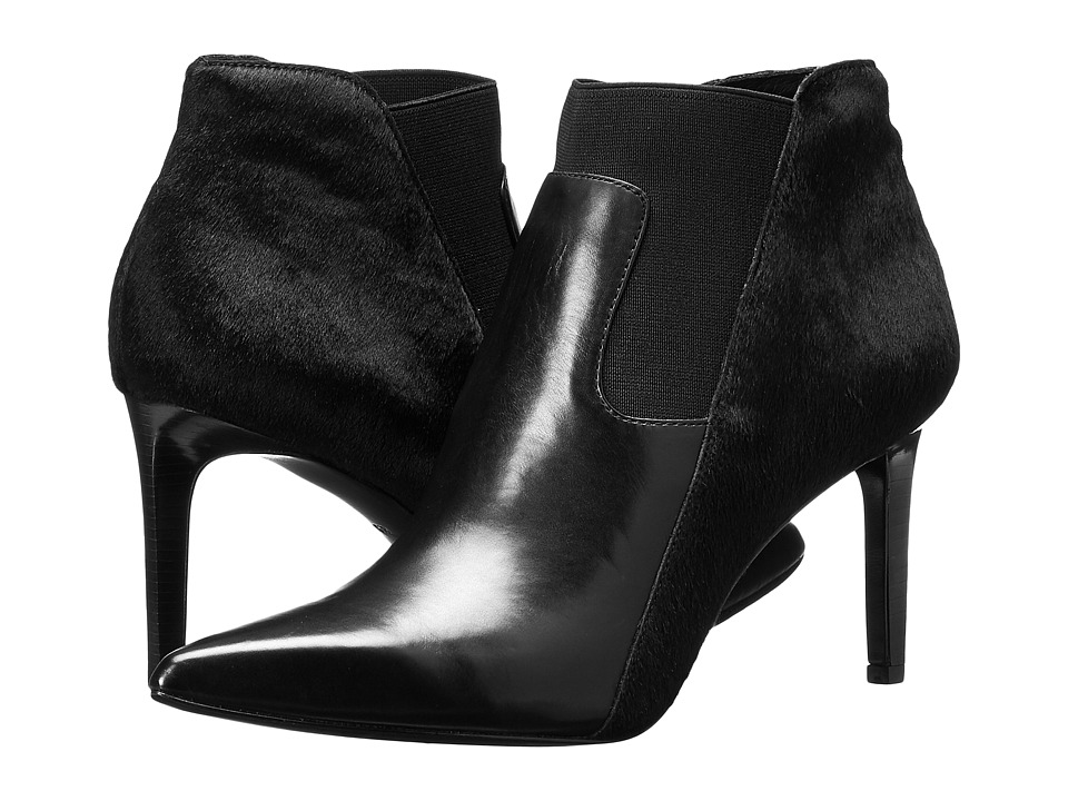 Rachel Zoe Heidi (Black Baby Calf/ Hair Calf) High Heels