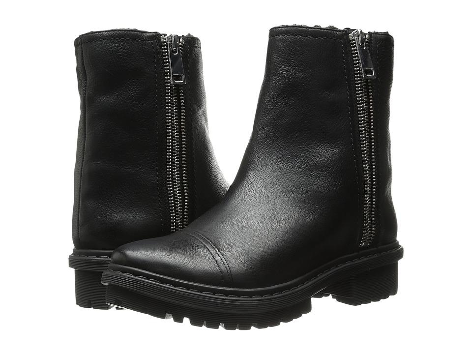 Rachel Zoe - Evan (Black Tumbled Leather) Women