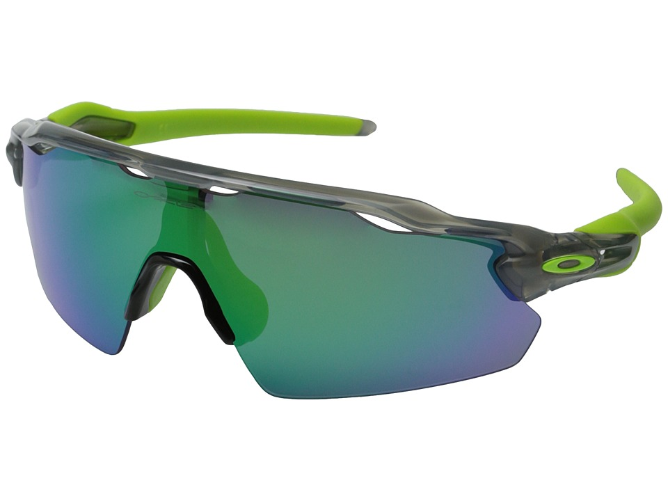 Oakley - Radar EV (Grey Ink w/Jade Iridium) Sport Sunglasses