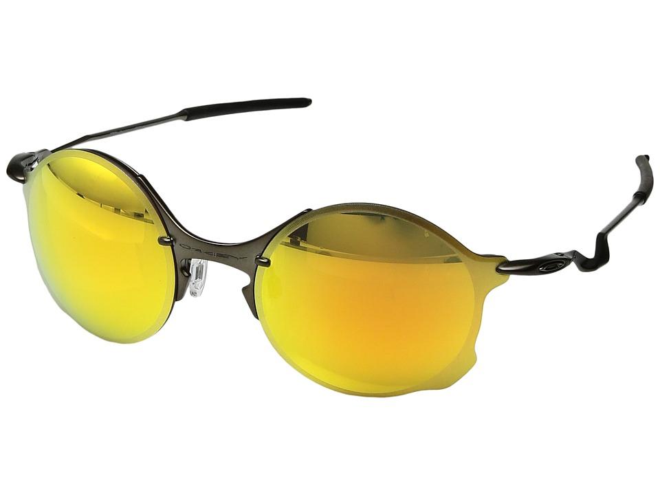 Oakley - Tailend (Pewter w/Fire Iridium) Sport Sunglasses