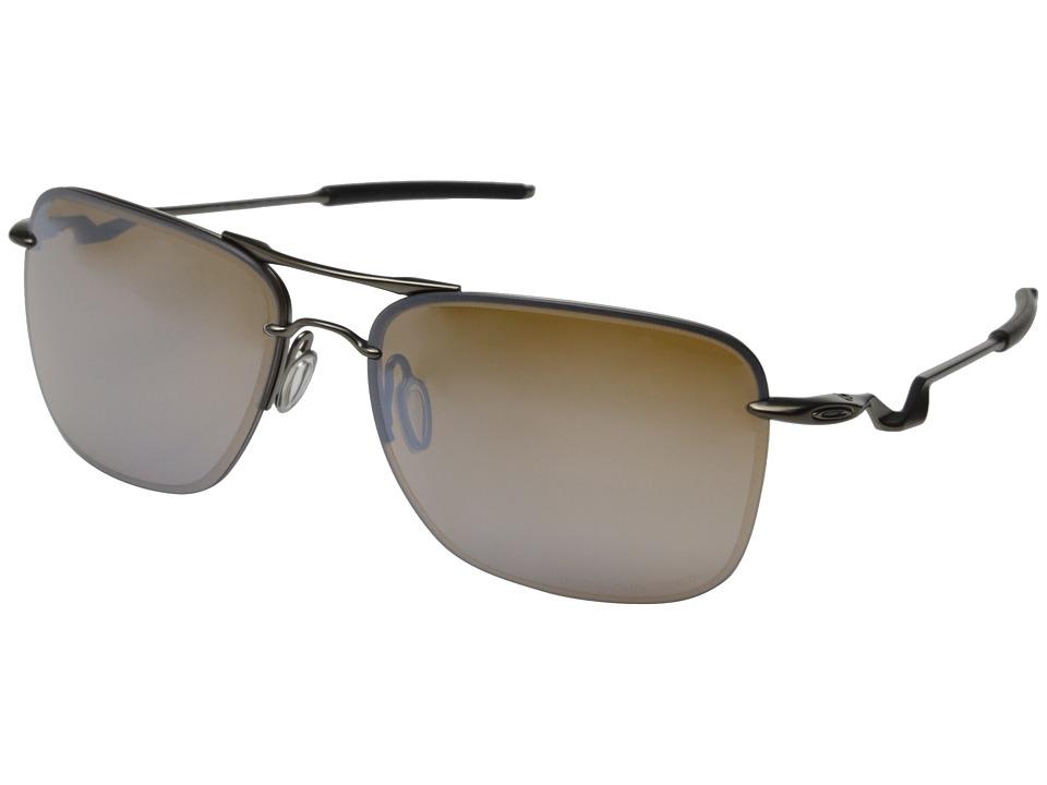 Oakley - TailHook (Titanium w/Titanium Iridium Polarized) Sport Sunglasses