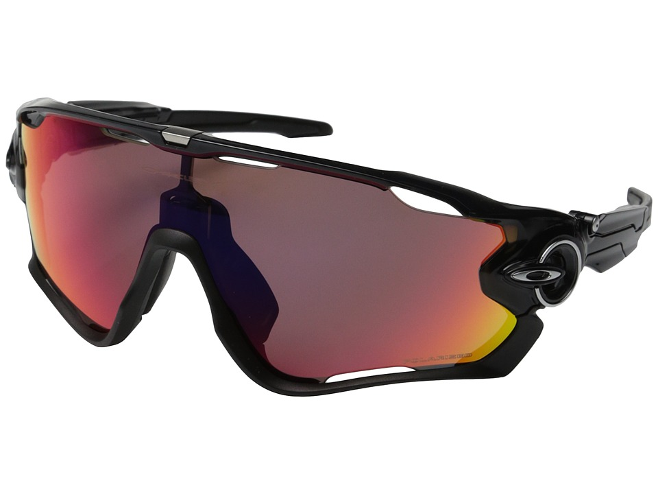 Oakley - Jawbreaker (Black Ink w/OO Red Iridium Polarized) Sport Sunglasses
