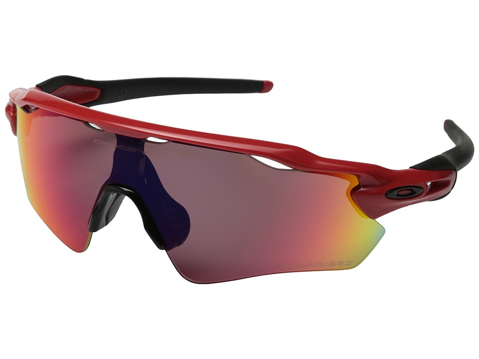 Oakley - Radar EV (Redline w/OO Red Iridium Polarized) Sport Sunglasses