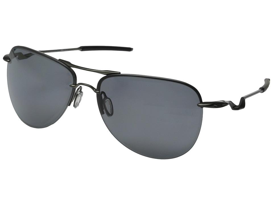 Oakley - Tailpin Lead (Carbon w/Grey Polarized) Sport Sunglasses