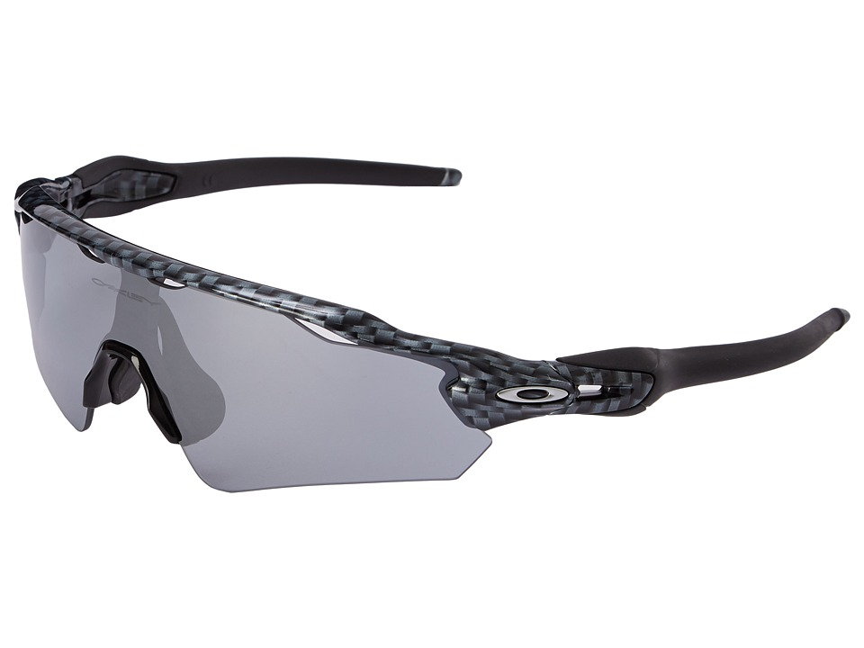 Oakley - Radar EV Asian (Carbon Fiber w/Slate Iridium) Sport Sunglasses