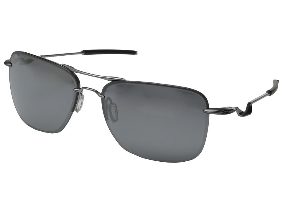 Oakley - TailHook (Lead w/Black Iridium Polarized) Sport Sunglasses