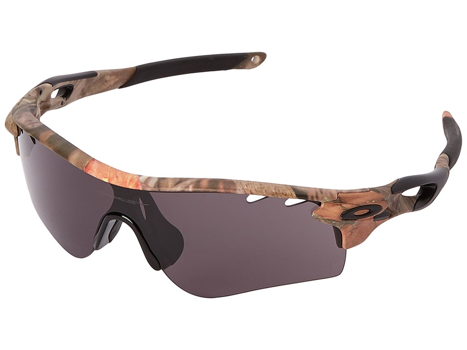 Oakley - Radarlock (Woodland Camouflage w/Warm Grey) Polarized Sport Sunglasses
