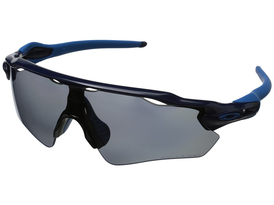 Oakley - Radar EV (Navy w/Grey Polarized) Sport Sunglasses