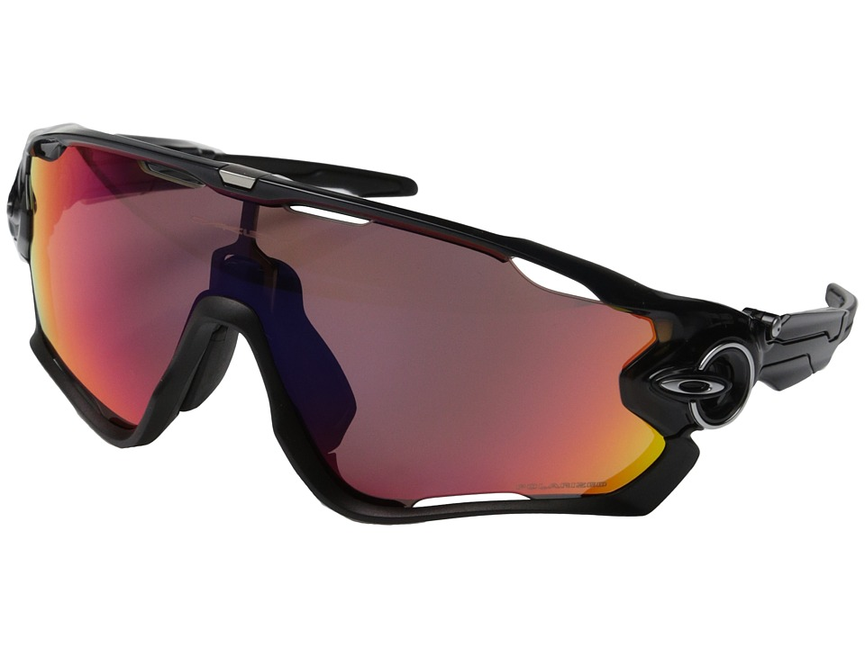Oakley - (A) Jawbreaker (Black Ink w/OO Red Iridium Polarized) Sport Sunglasses